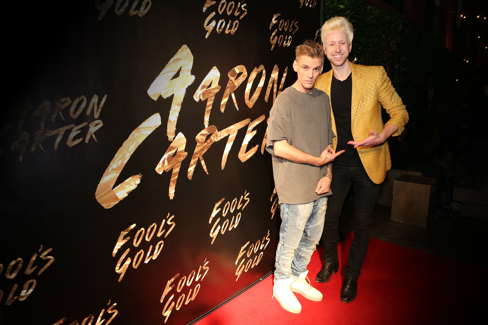 Aaron Carter and Jon Asher