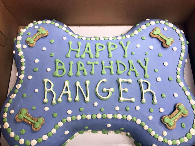 Large Custom Birthday Cakes Paw Or Bone FETCH