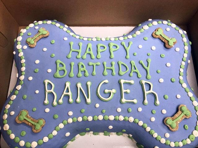 Large Custom Birthday Cakes Paw or Bone FETCH A Treat Truck