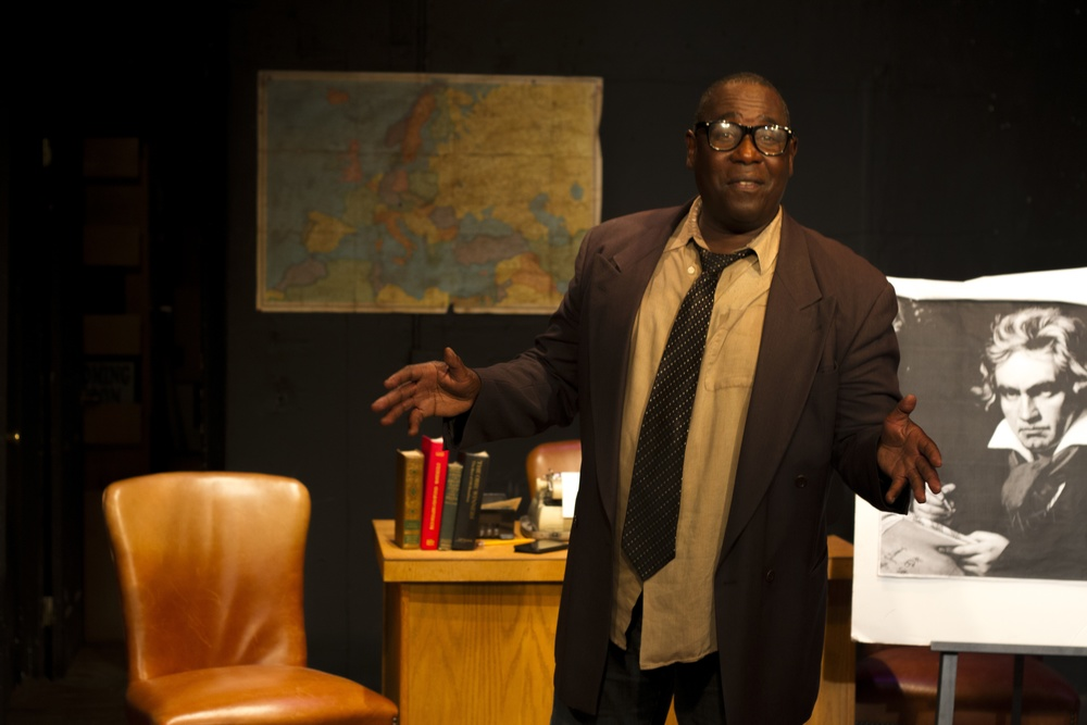 Ernest Harden Jr. as Kabin Thomas photo by Rob Flores