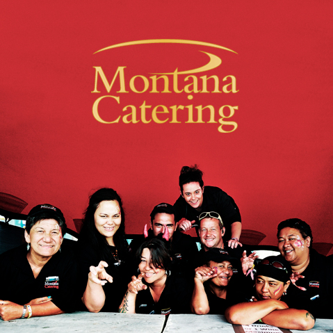 Montana Catering team at Rhythm and Vines 2015