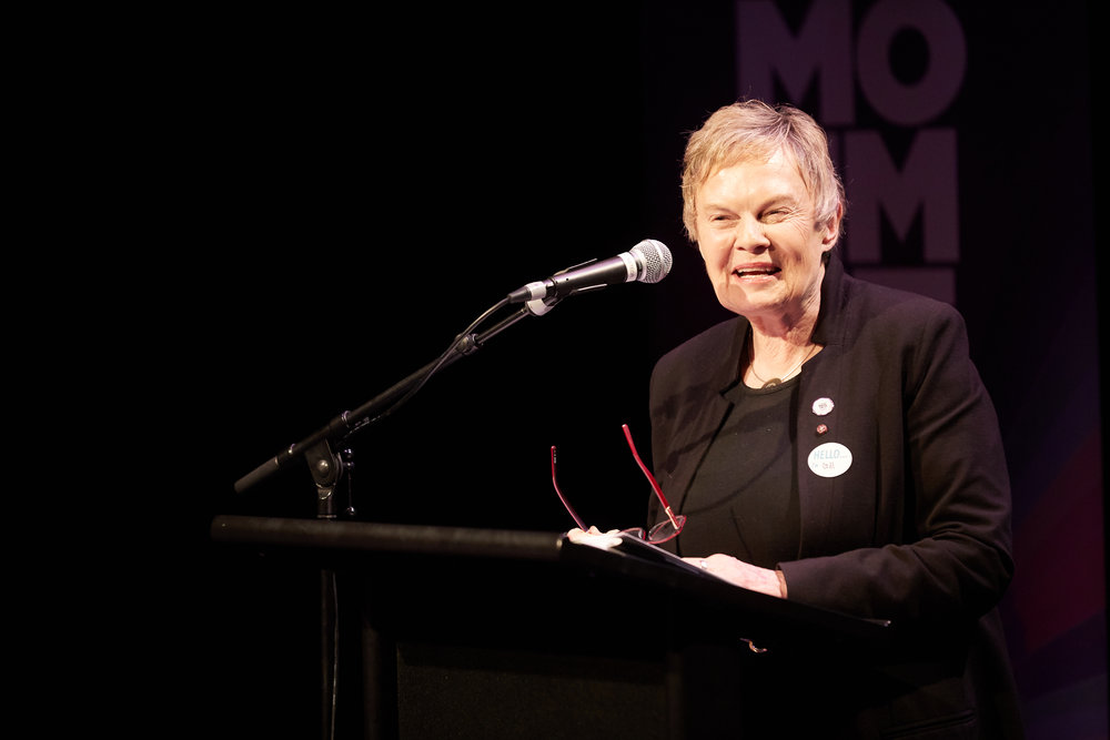 Dr Gill Greer, Chief Executive of the National Council of Women of New Zealand, spoke at the Launch of the Waikato Women's Fund.