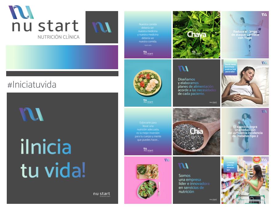 Nustart, consultorio de nutrición clínica. #IniciaTuVida    Un nuevo comienzo. Comunicar que nustart te apoyara para comenzar un estilo de vida sano y feliz.