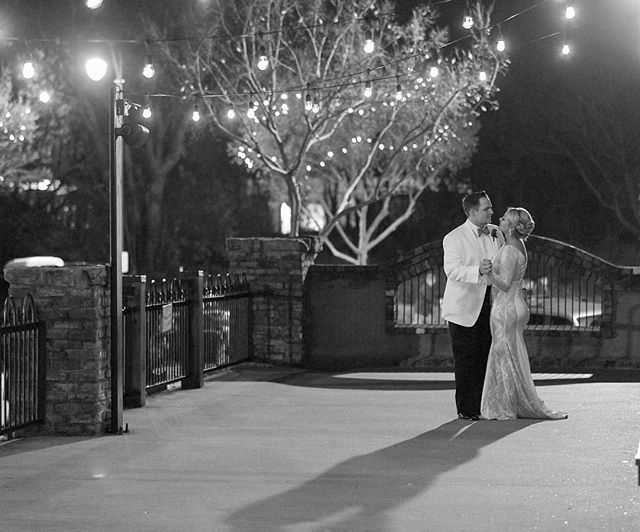 Congratulations Chelsey & Chase! We loved being part of your wedding journey! Wishing you years of many, many more slow dances under the stars! 📷 by Tony DeLorenzi @oldcigarwarehouse