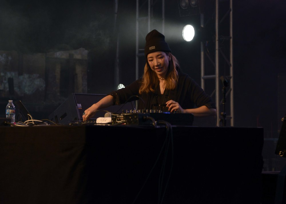 TOKiMONSTA DJing in support of her new album 'Lune Rouge', her first after brain surgery.