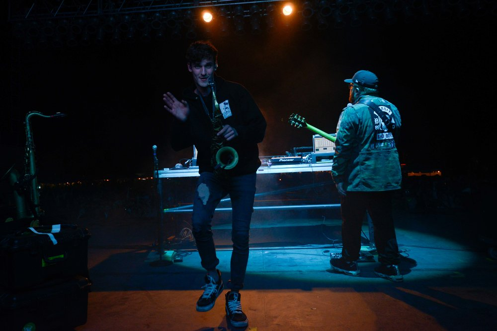 GRiZ bringing back the sax.