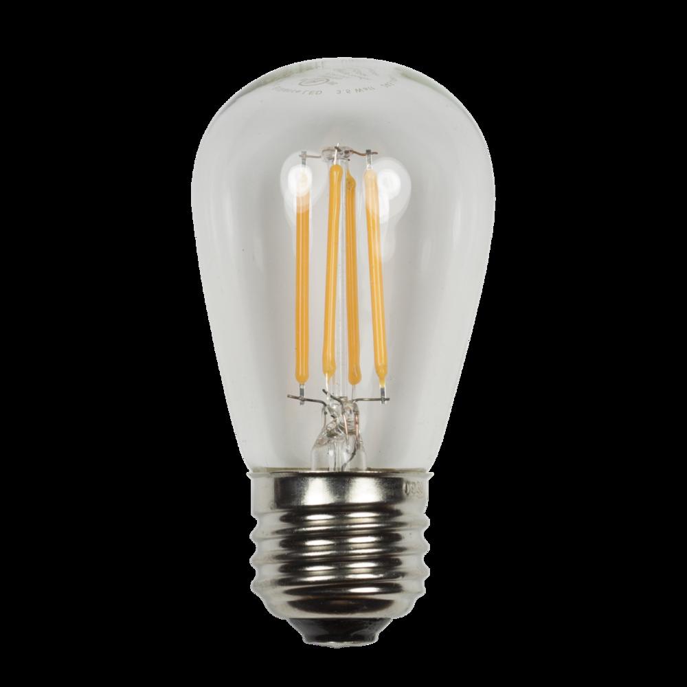 S-14 EDGE Filament Wattage: 3.5 Lumens: 245