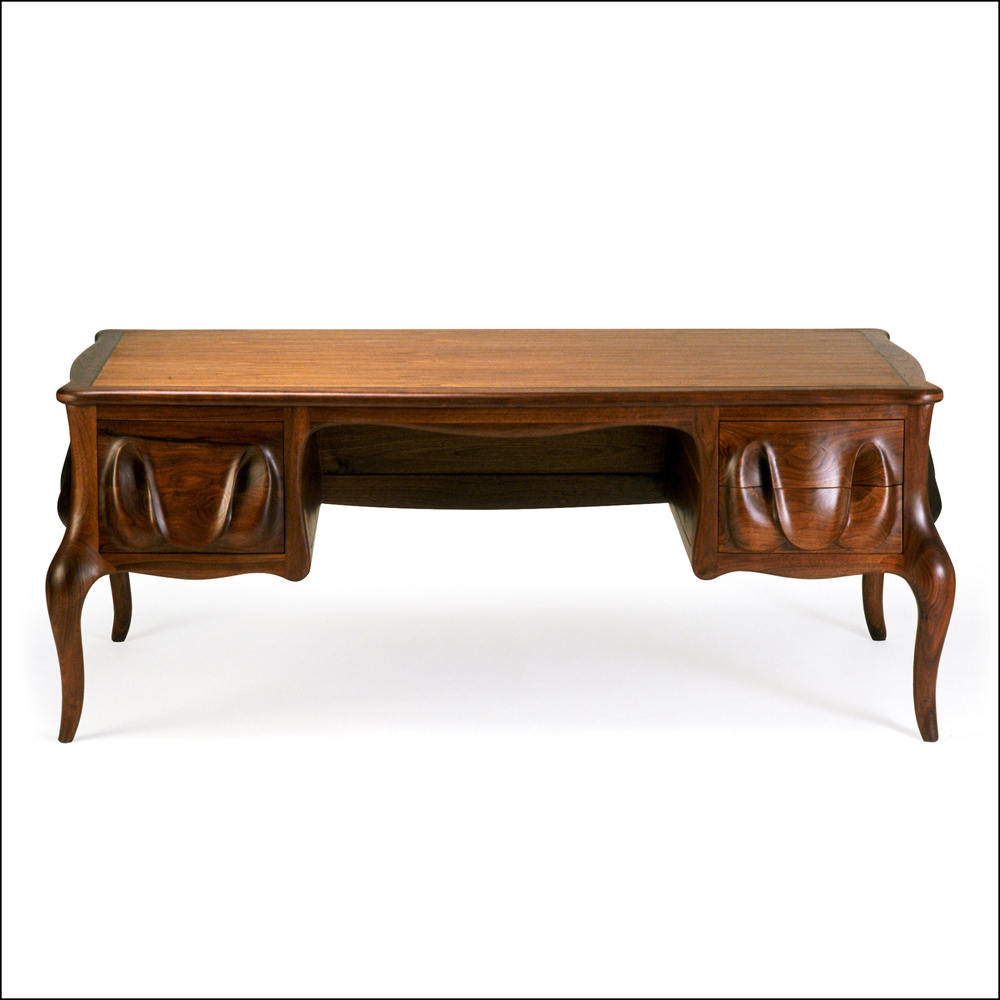carved desk