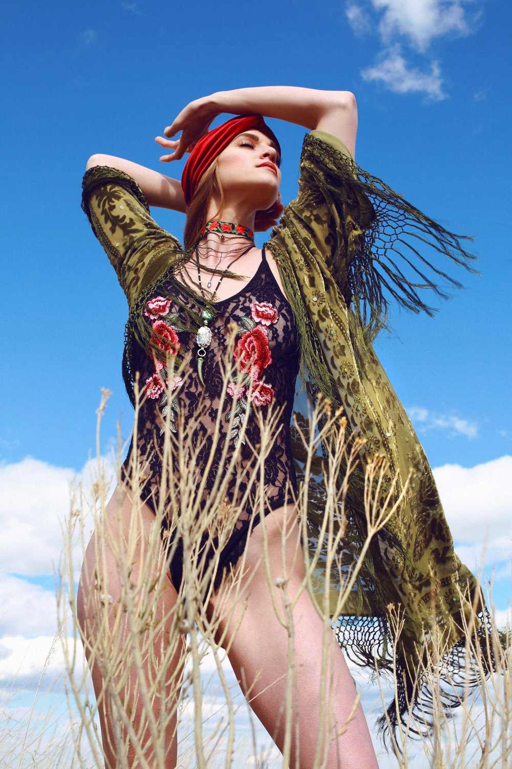 COLORADO GYPSY DREAMIN' - Photo Shoot Story shot by Alyssa Risley - IG @alyssarisley #BLUESKY #EDITORIAL #TUMBLEWEED