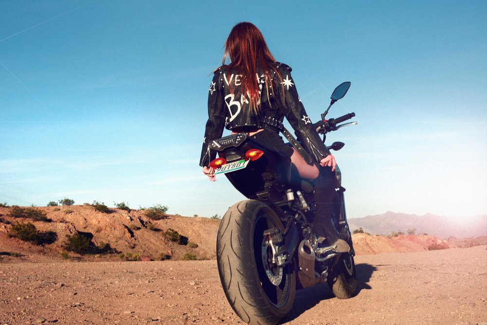 MOTO BABE - Desert Photo Shoot Fashion Story shot in Las Vegas by Alyssa Risley - IG @alyssarisley