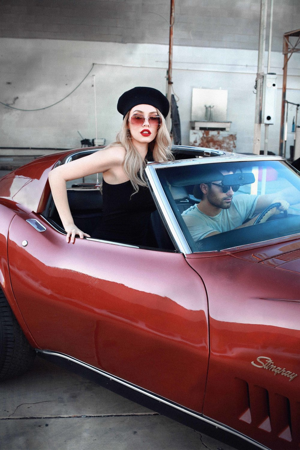 BABES & CARS - VIVA LAS VEGAS AUTOS - Classic Cars Photo Shoot Love Couples Story by Alyssa Risley - IG @alyssarisley