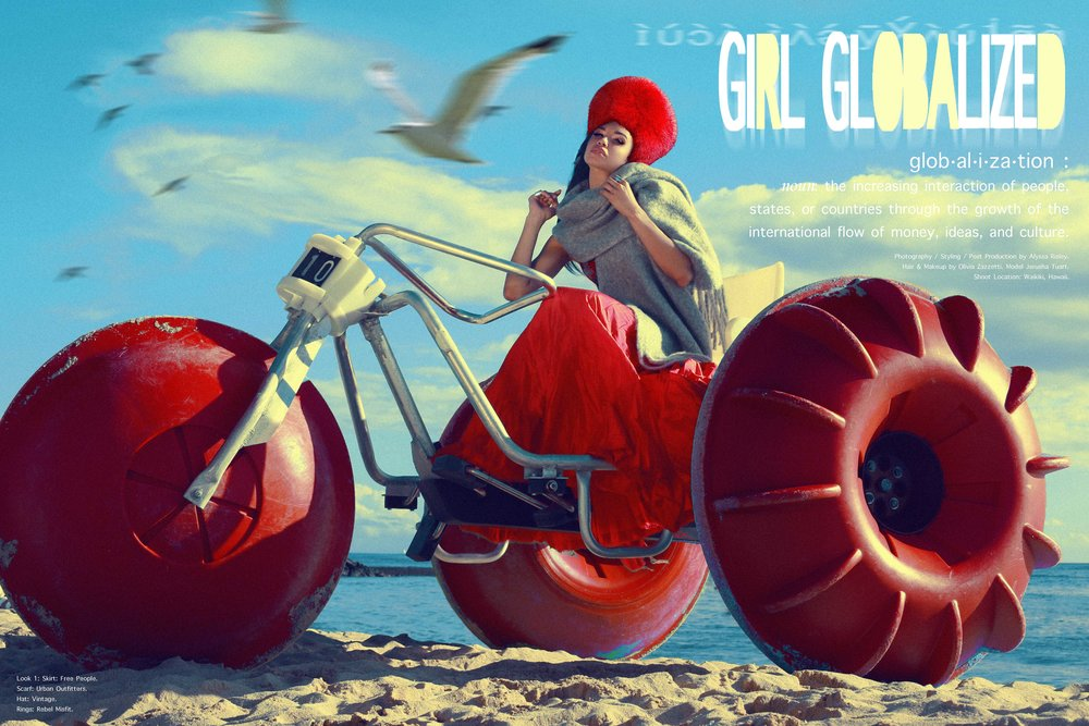 GIRL GLOBALIZED - Fashion Editorial Story by Alyssa Risley - IG @alyssarisley