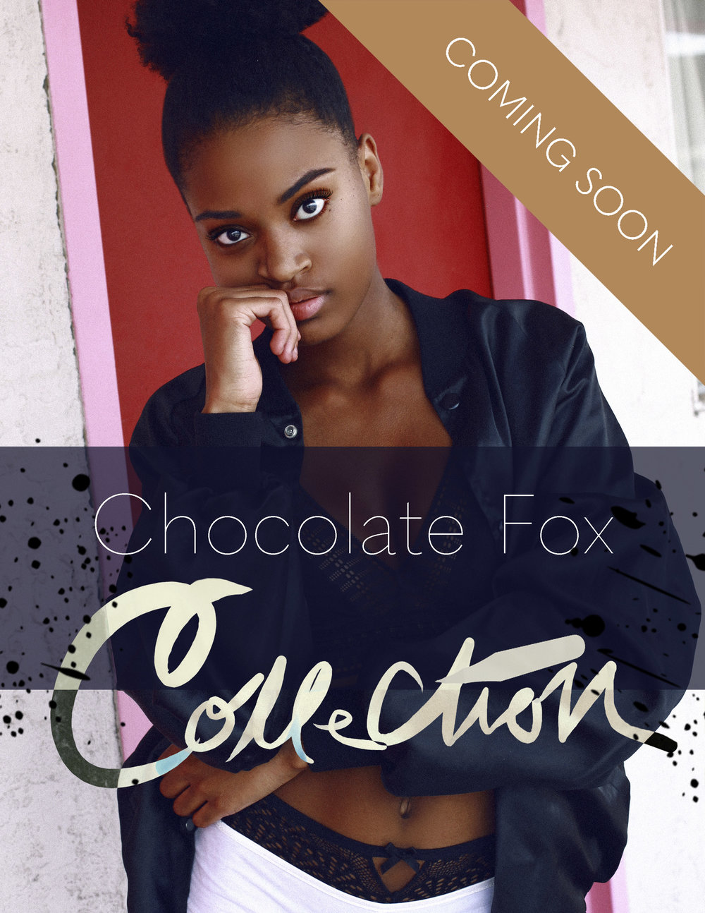 Chocolate Fox Collection Photoshop Actions - Dark Black Skin Tones - SHOP Photographer Alyssa Risley @alyssarisley