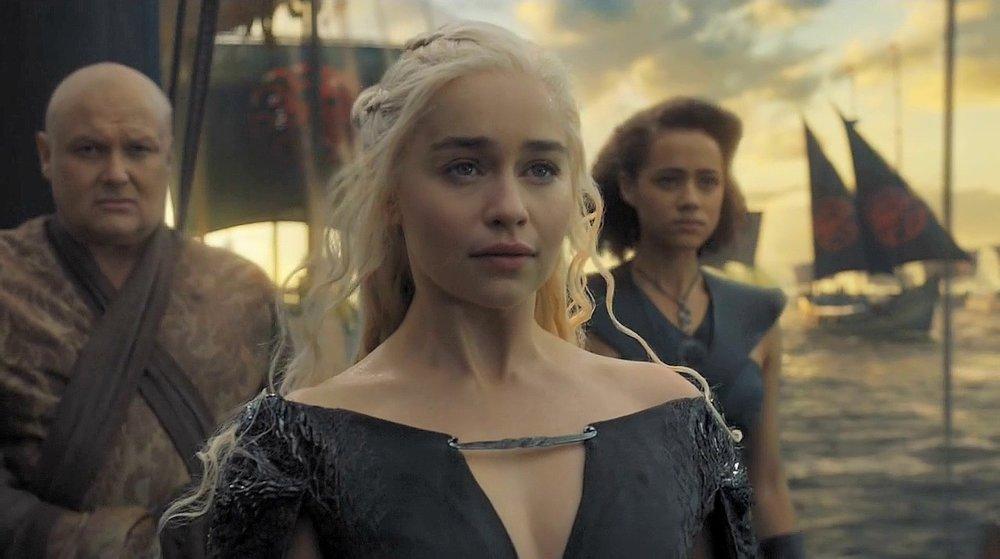 Deb's alter ego (Daenerys Targaryen from Game of Thrones)