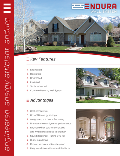 Endura Wall System Brochure PDF