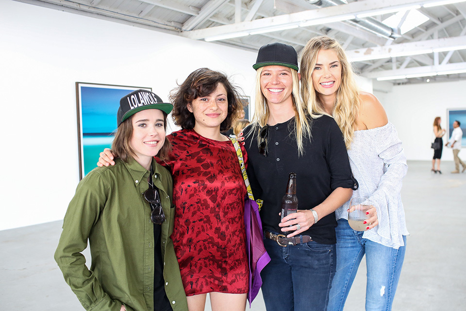 Danny Fuller, a former Chanel model, surfer and long time RVCA advocate, hosted his art show that was supported by friends such as Anthony Kiedis.
