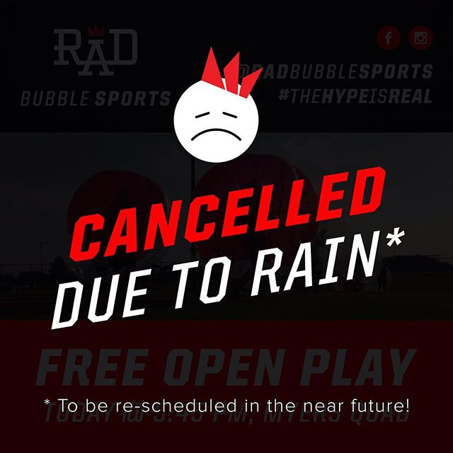BUMMER!  It's supposed to rain all week. BUT we will re-schedule in the near future. We will keep you posted! Sorry everyone! 😖