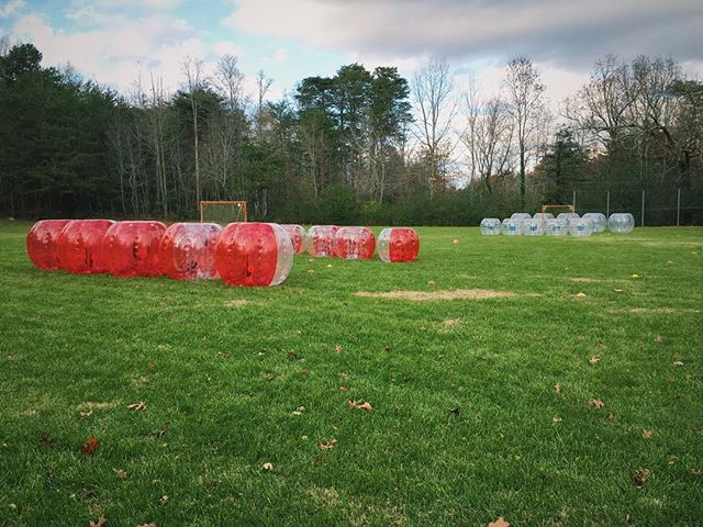 Das a lotta bubbles. #thehypeisreal #bubblesoccer #bubblesports #rad