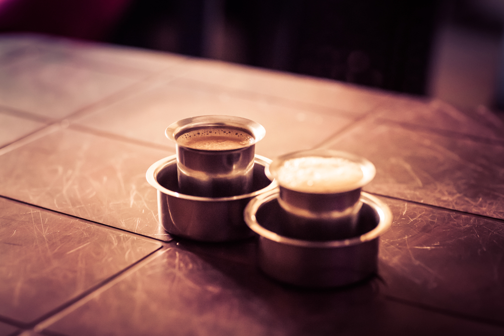Coffee for two in India