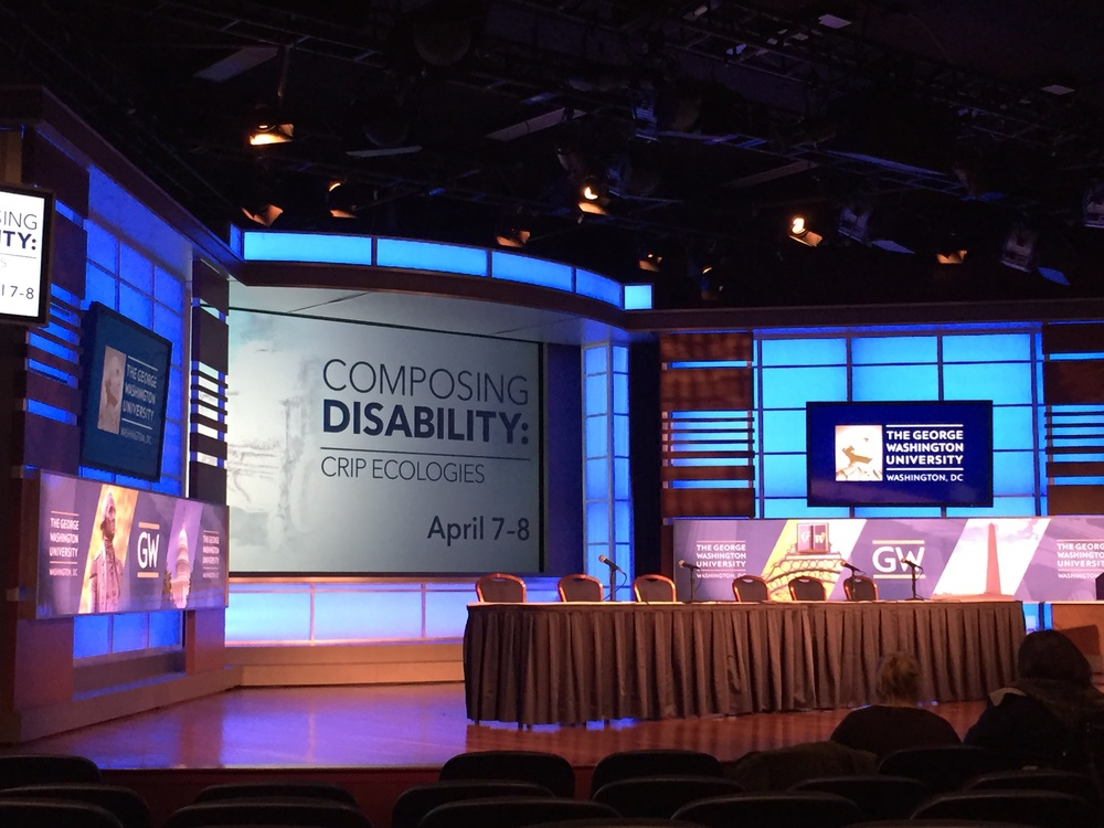 Composing Disabilities Conference at the George Washington University