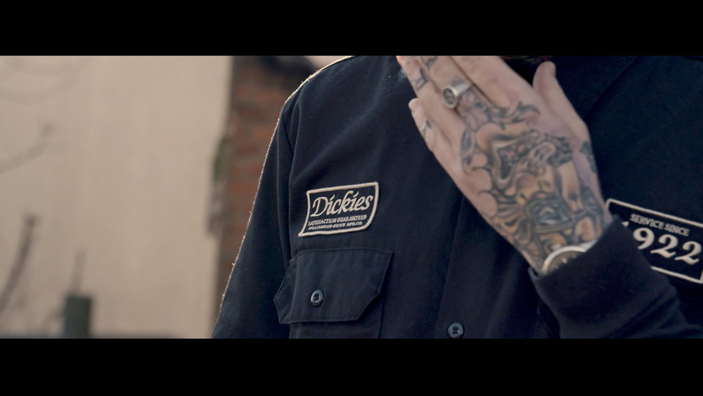 Harley Davison Iron Sportster 883 Video Production North East England Barbers Corporate Video Dickies