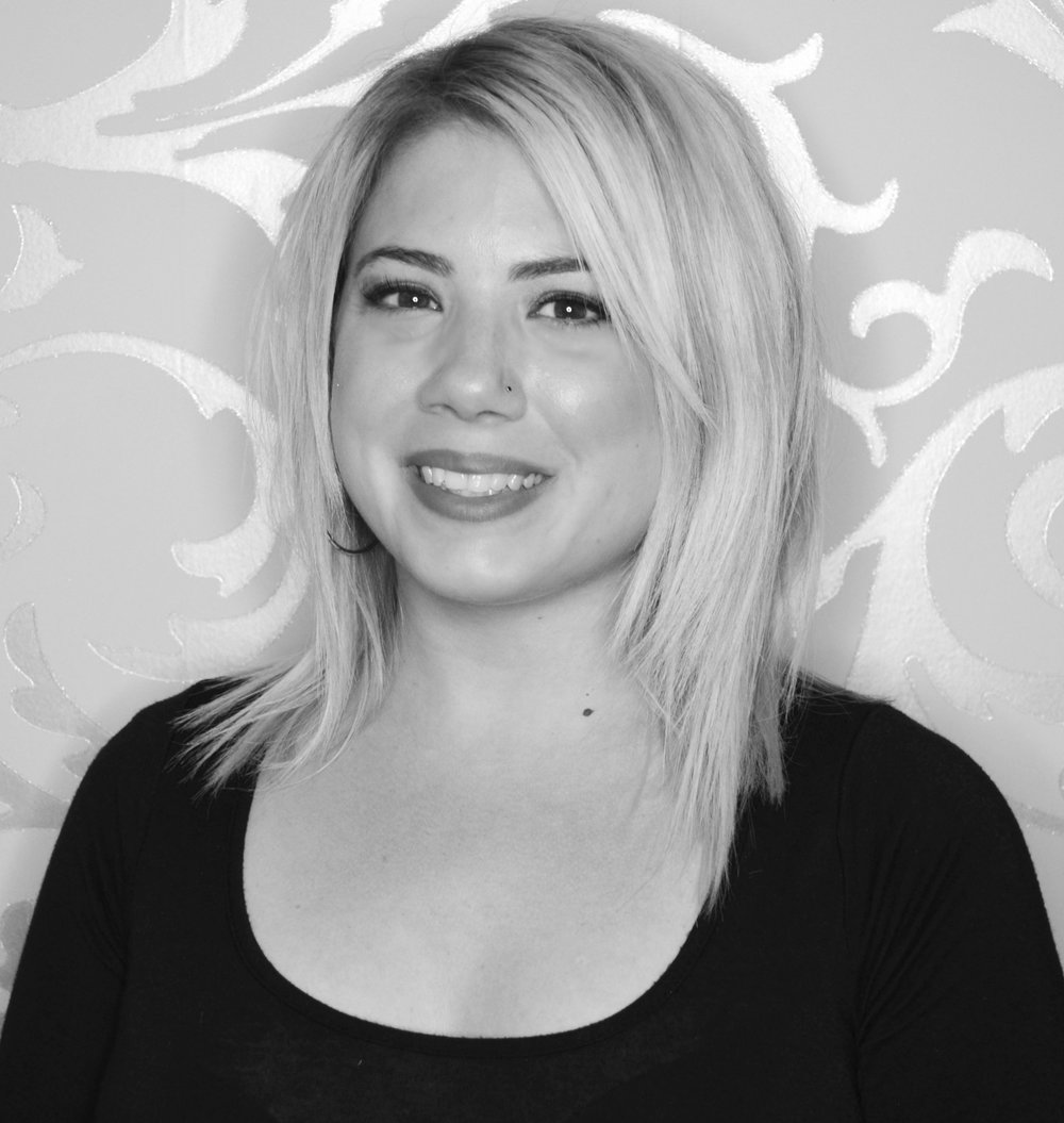 JOY Joy is a graduate of the Jean Madeline Aveda Institute. For 8+ years, she has worked as a Hair Stylist specializing in color techniques, hair cuts, hair extensions, and up-do styles. Joy is certified in the Japanese Straightening System and has worked with Keratin Complex.
