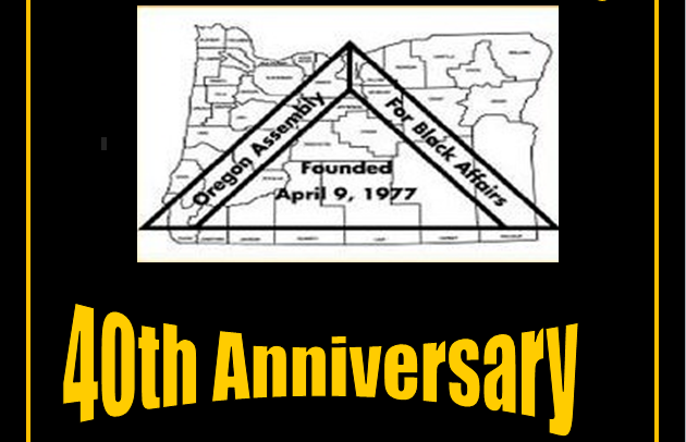 OBPC Celebrates 40 Years!   Join us in the Governor's Ceremonial Offices this Friday for the 40th Anniversary of the Oregon Assembly for Black Affairs  Read more about the Anniversary
