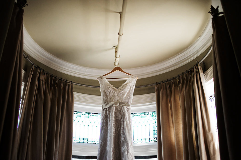 brides dress new victorian bed and breakfast