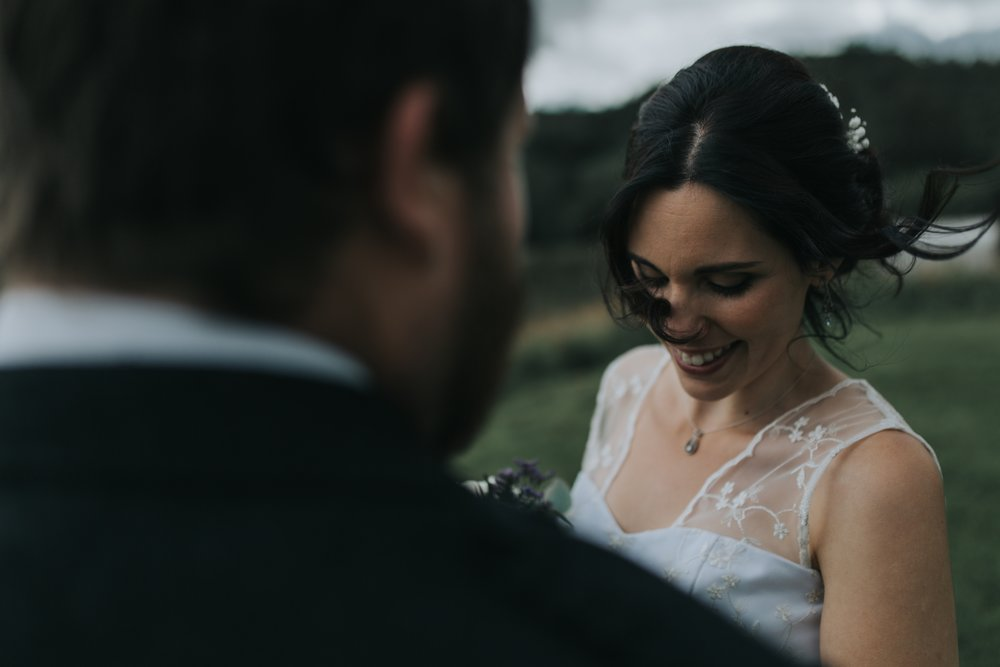 Diana & Lachlan, A Highland Wedding Day