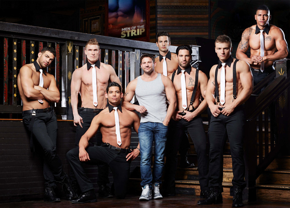 MEN OF THE STRIP (E!) - MEN OF THE STRIP  is a brand new reality movie event on E!, which follows Jeff Timmons, Singer & former member of 98 Degrees, along with a group of male strippers that star in the titular Vegas show, as they try to get permanent residency in Sin City. Special aired Spring 2015 on E!.