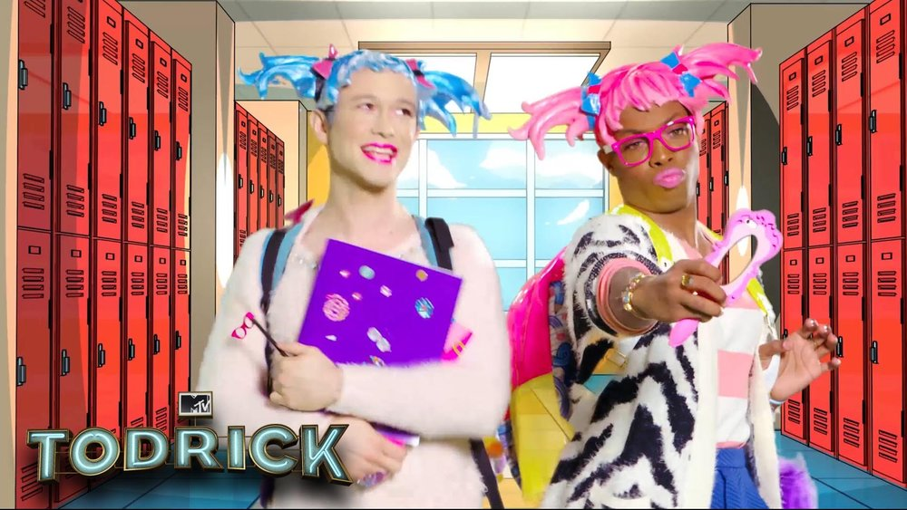 TODRICK (MTV) - New weekly MTV docu-series, quadruple-threat Todrick Hall lets fans into his creative factory and introduces them to the passionate troupe of creative collaborators who pour heart and soul into his weekly videos. Unwilling to wait for Hollywood to make them stars, Todrick and his faithful crew write, choreograph, style, and direct full-scale productions weekly – all while balancing side jobs to pay the bills – to try to make their dreams come true on their own terms. Visit Todrick's YouTube channel to check out his unique talents and see what everyone has been raving about. Todrick aired August 2015.