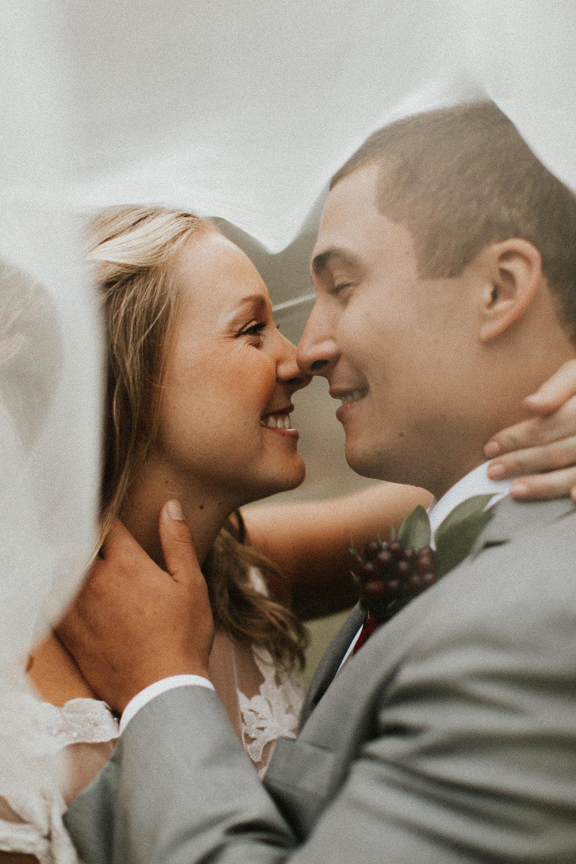 Hunter & Kayla - Woodsy Fall Wedding atThe Farm Retreat at Willow Creak