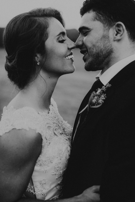 Elizabeth & JOlsuan's North Carolina Barn Wedding