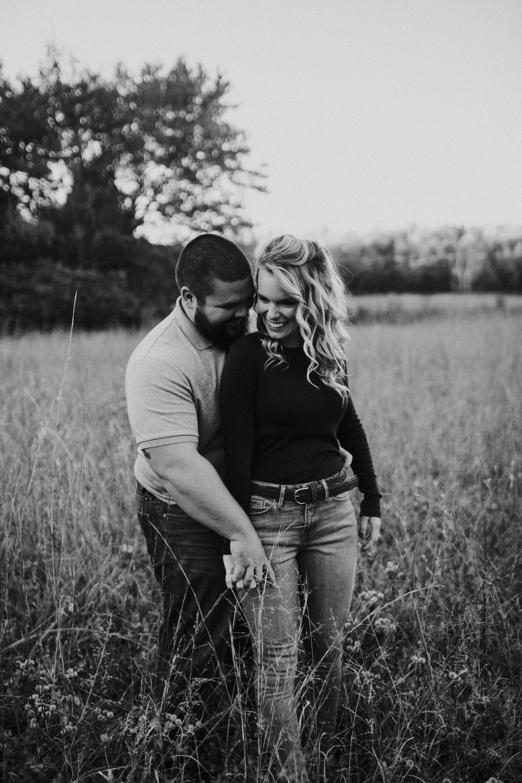 Ben + Abbie - Spotsylvania Farm Field Engagement