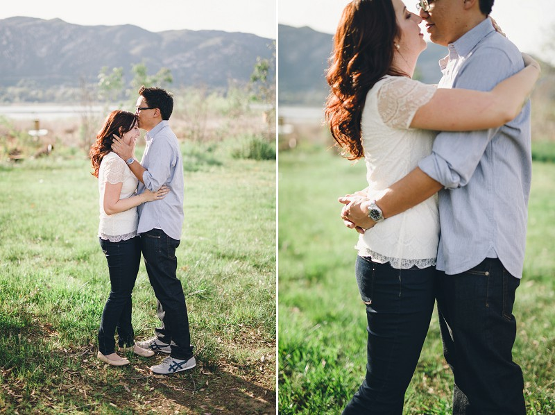 Lake Hodges Engagement Session