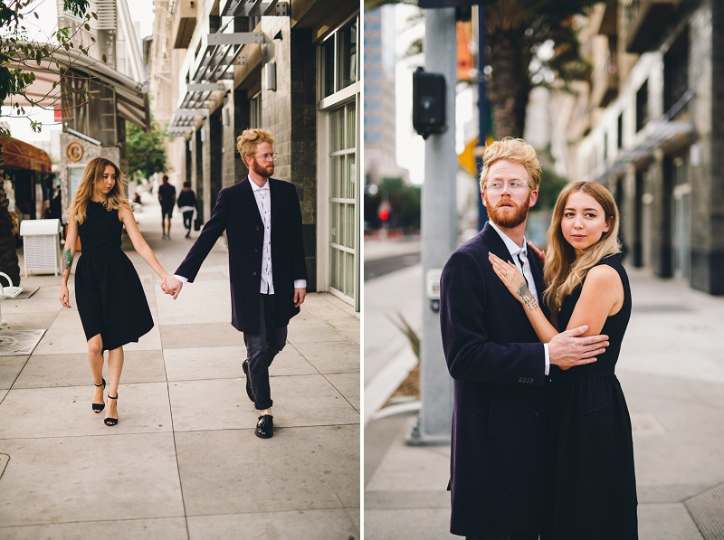 Downtown Long Beach Engagement Session