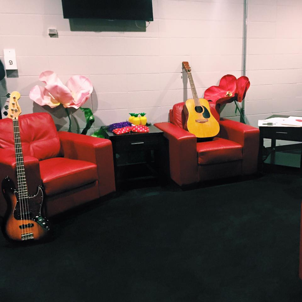Jann Arden's dressing room, beautiful iPhone photo by yours truly.