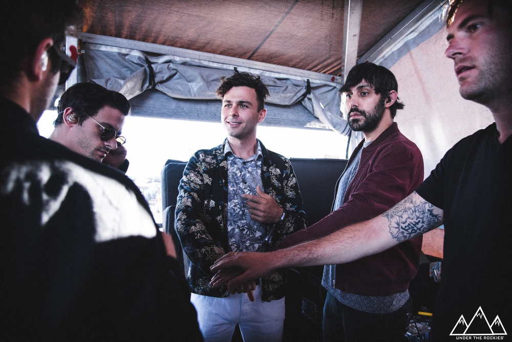 Arkells: 30 seconds to showtime.