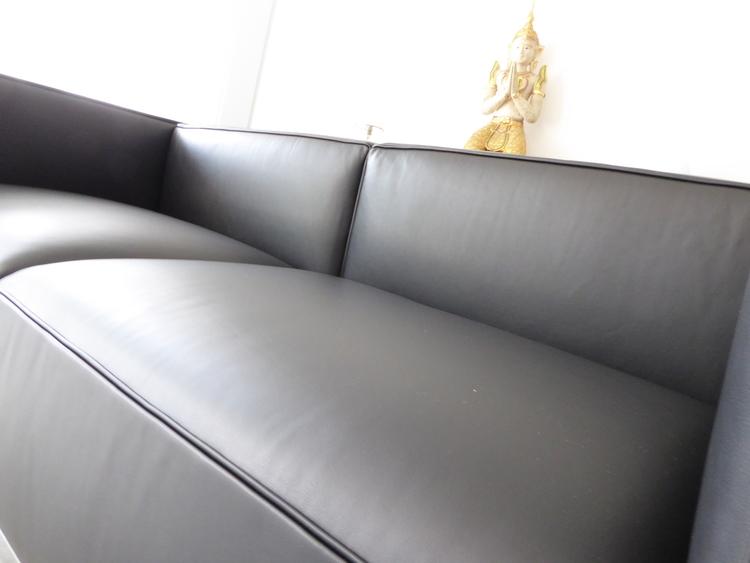 Cassina Le Corbusier Lc3 2 Sitzer Leder Schwarz Top Furniture4life
