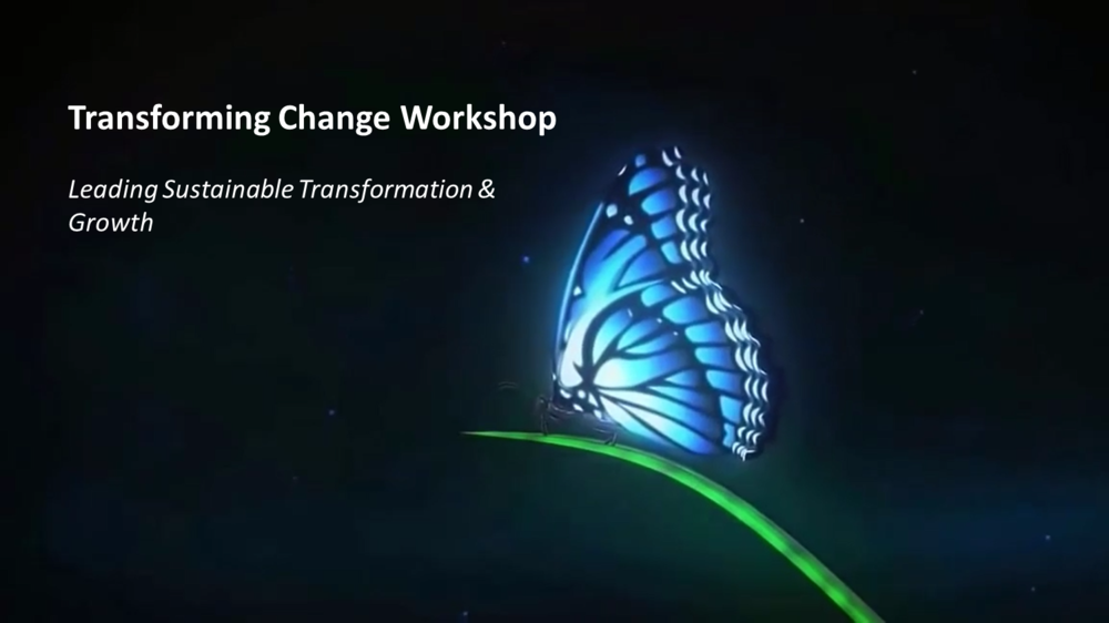 Change is an every day though within organisations. The challenges placed on organisations are complex and the balance of priorities between customers, economic pressures and performance are what differentiate good organisations from great ones. True transformation in organisations is complex and a multi-dimensional process. Leaders today are seeking radically to improve performance by changing behaviour and capabilities at all levels. Most leaders are also wanting help to up their skills and be able to create and sustain change efforts. Our 1-day workshop addresses these concerns and helps leaders and organisations be more innovative, agile, effective, and future-ready. Using the Whole System Transformation model, we provide you the insights, framework and road map to transform your organisation. Come and join us as we transform the face of change, and enjoy this journey with us. Click here for more info and to book!