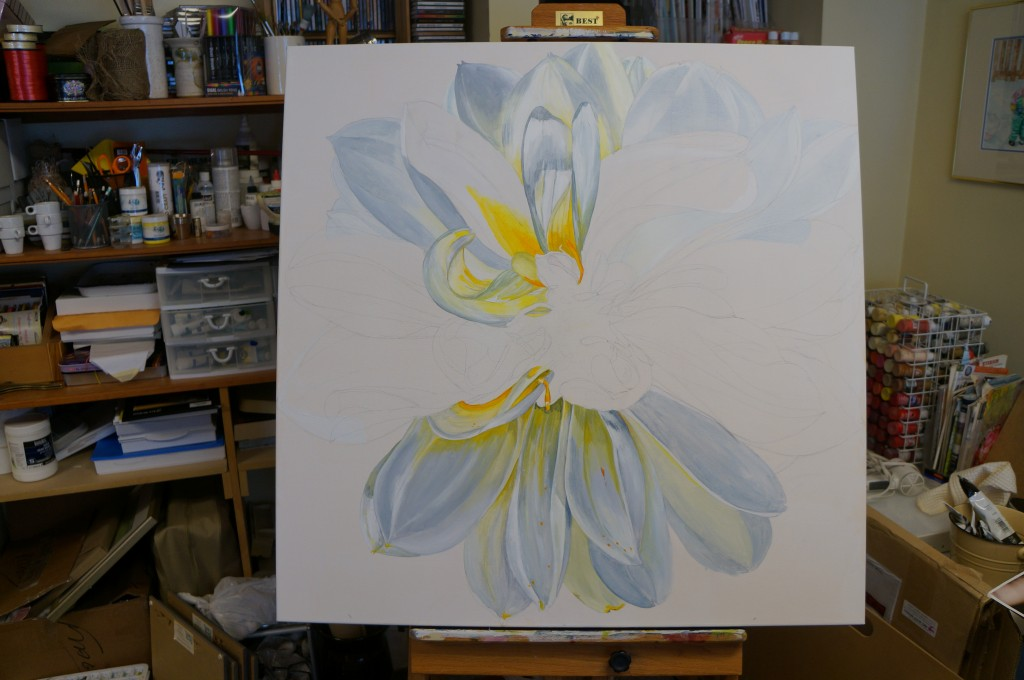 On the Easel