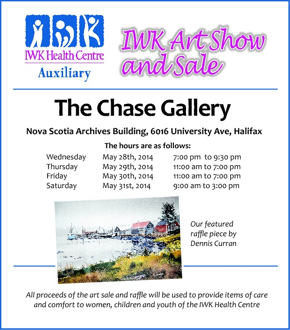 IWK Art Show - 2014 advert