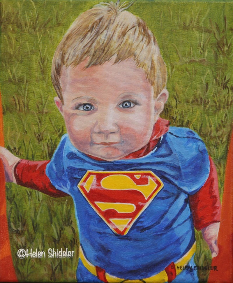 Oliver is Super by Helen Shideler