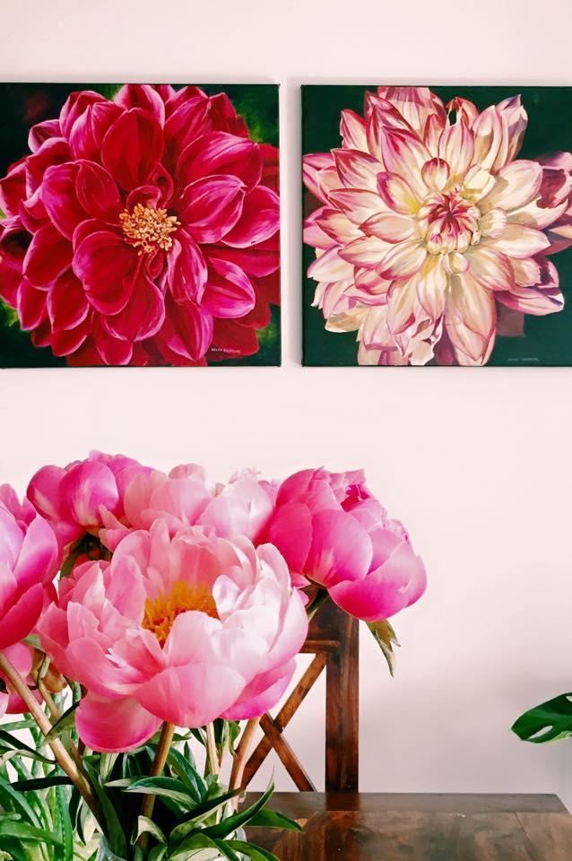 Paintings by Helen Shideler