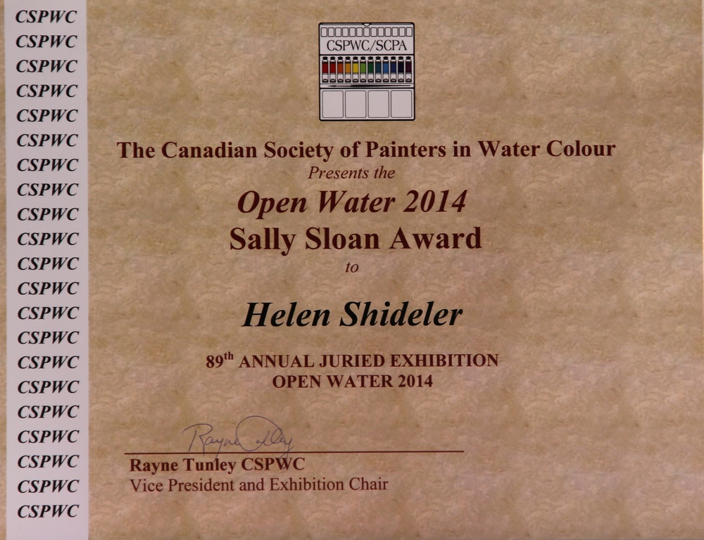 Open Water 2014 Award Winner