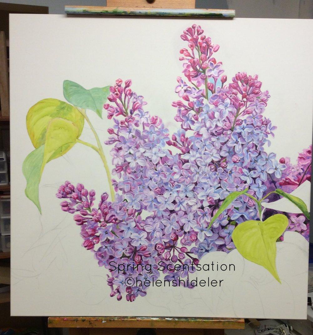 Spring Scentsation by Helen Shideler