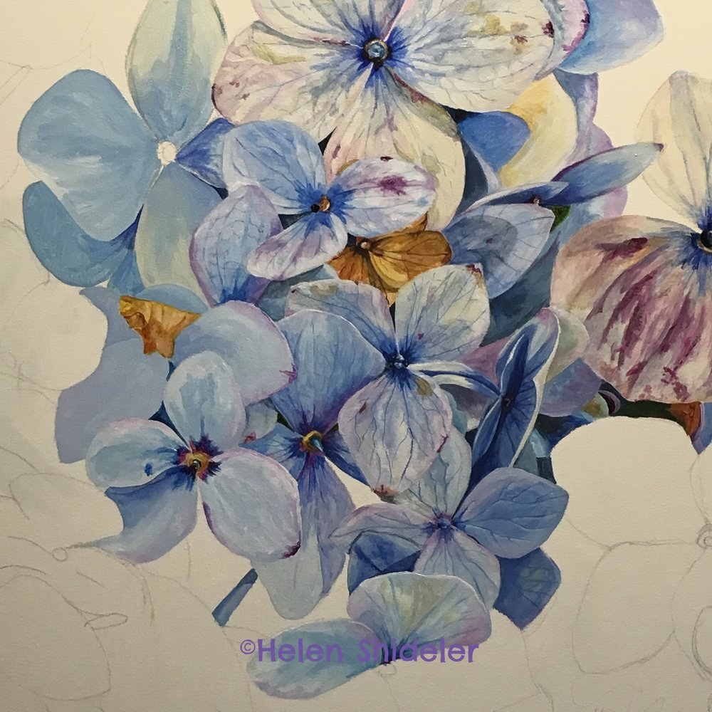 WIP AMethyst Blues by Helen Shideler