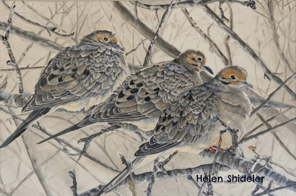 Moody Mourning by Helen Shideler