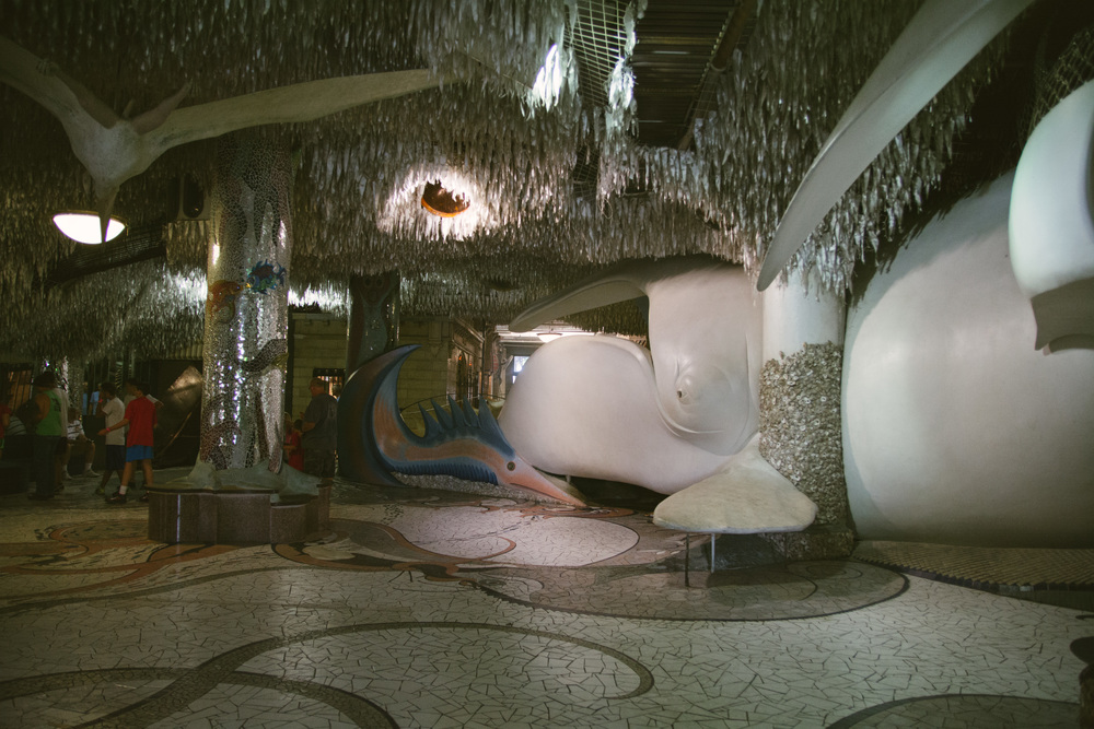 A small section of the St. Louis City Museum