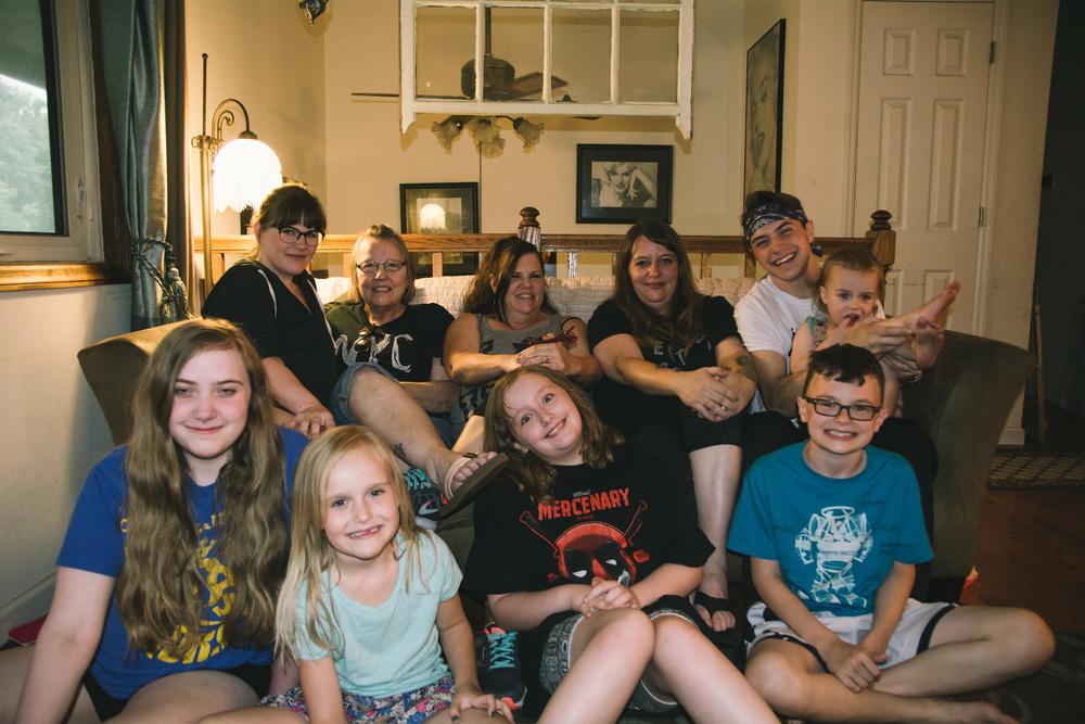 Finally, my family. <3
